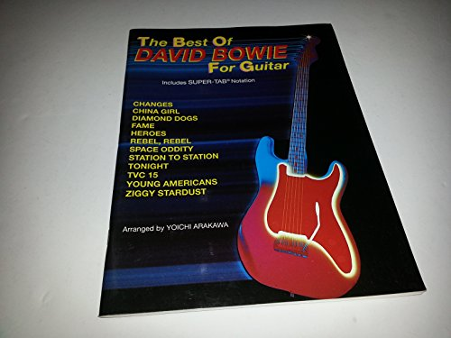 9780897240536: The Best of David Bowie for Guitar