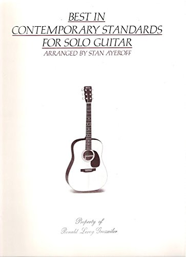 9780897241601: Best in Contemporary Standards for Solo Guitar