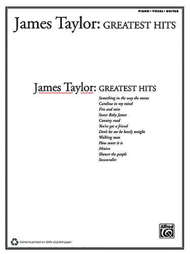9780897241649: James Taylor -- Greatest Hits