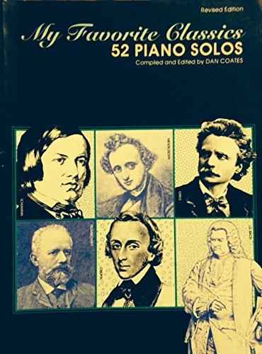 9780897242486: My Favorite Classics 52 Piano Solos
