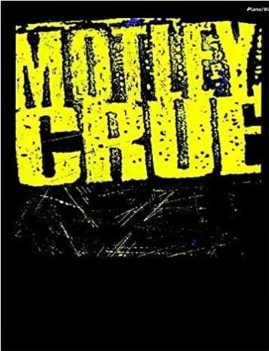 Mötley Crüe: Piano/Vocal/Chords (0897243153) by Mötley Crüe