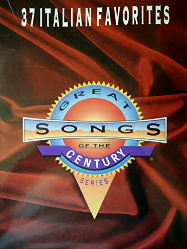 9780897244336: 37 Italian Favorites: Great Songs of the Century