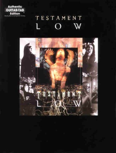 9780897244619: Testament -- Low: Authentic Guitar TAB