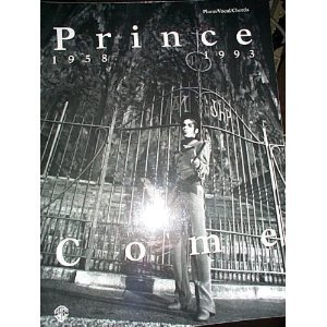 9780897244701: Prince -- Come: Piano/Vocal/Chords