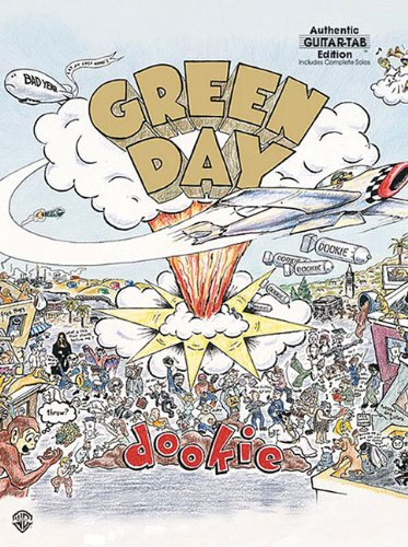 9780897244824: Green Day - Dookie (Authentic Guitar-Tab)