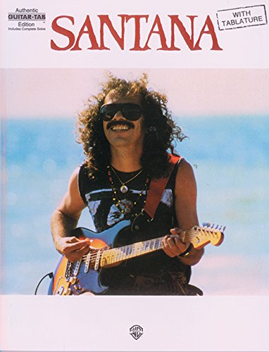9780897245166: Santana: Authentic Guitar TAB