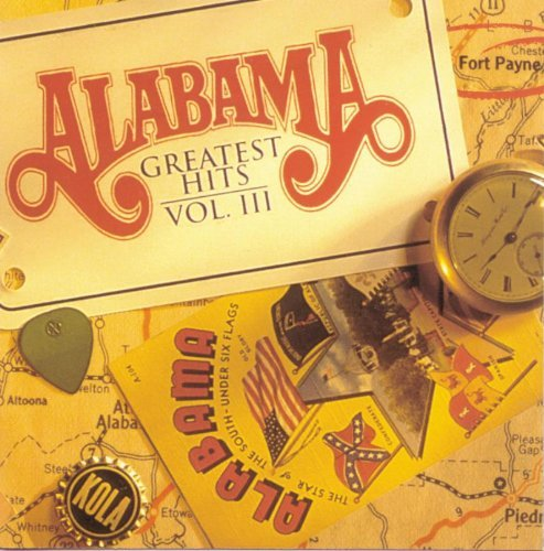 9780897245722: Alabama -- Greatest Hits, Vol 3: Piano/Vocal/Chords