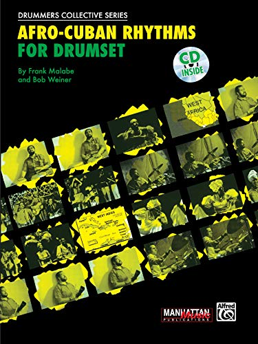 9780897245746: Afro-Cuban Rhythms for Drumset +CD