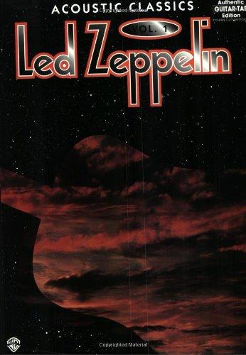 9780897245890: Led Zeppelin: Acoustic Classics, Vol. 1