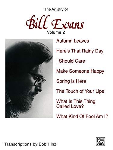 9780897246231: The Artistry of Bill Evans: 2