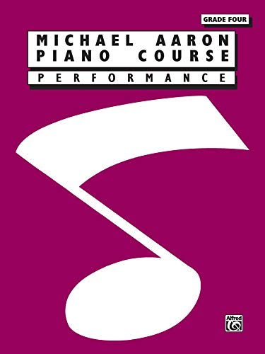 9780897246422: Michael Aaron Piano Course: Performance: Grade 4