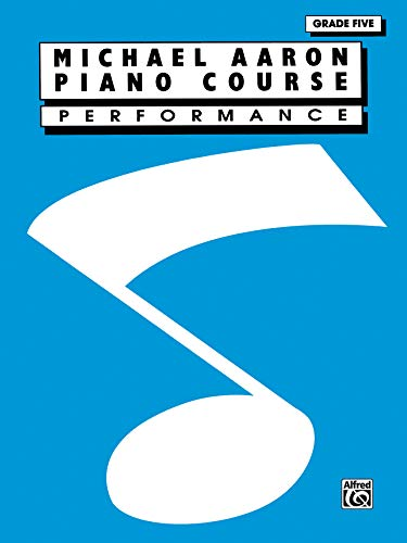 9780897246439: Michael Aaron Piano Course: Performance: Grade 5