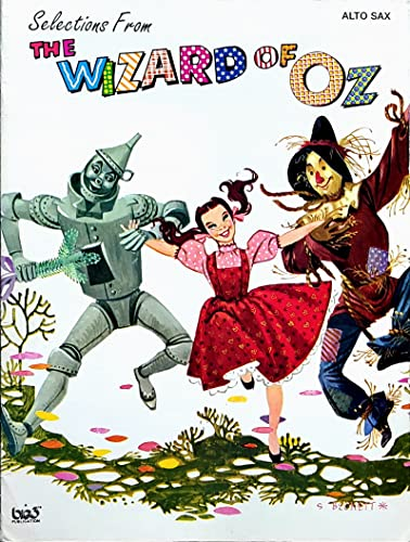 "9780897246842: Selections from ""The Wizard of Oz"": Alto Sax"