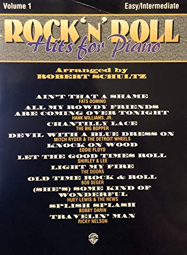 9780897246910: Rock 'n' Roll Hits for Piano, Vol 1