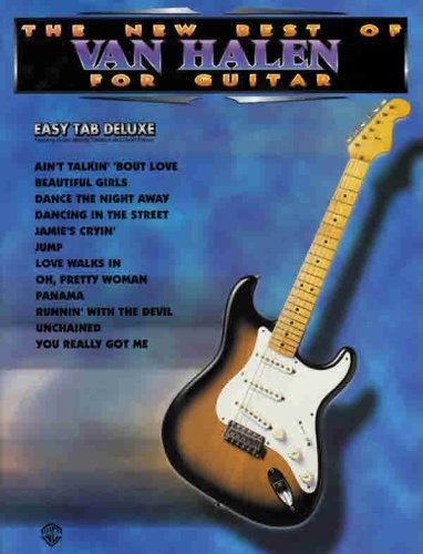 9780897247108: The New Best of Van Halen for Guitar: Easy TAB Deluxe (The New Best of... for Guitar)