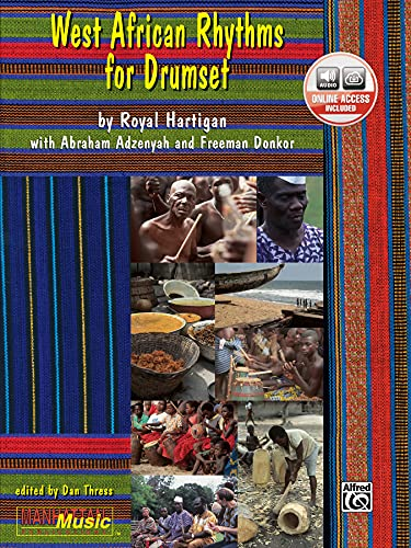 9780897247320: West African Rhythms for Drumset (Manhattan Music Publications)
