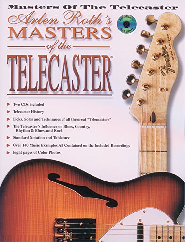 9780897248051: Arlen Roth's Masters of the Telecaster (Book & 2 CDs)