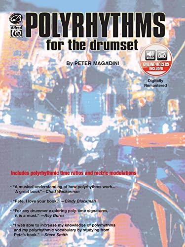 9780897248211: Polyrhythms for the Drumset: Book & CD