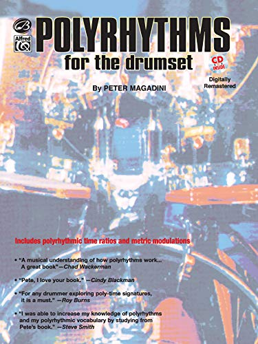 9780897248211: Polyrhythms for the Drumset: Book & CD