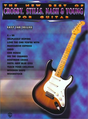 9780897248396: The New Best of Crosby, Stills, Nash & Young for Guitar: Easy TAB Deluxe (The New Best of... for Guitar)