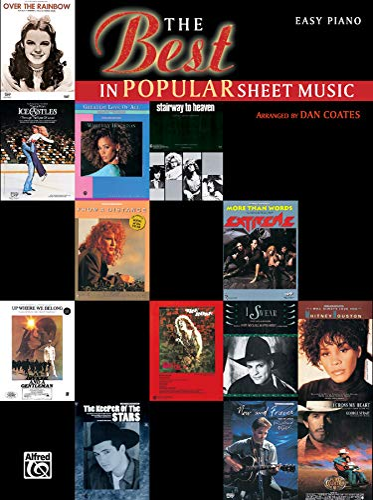 9780897249065: The Best in Popular Sheet Music
