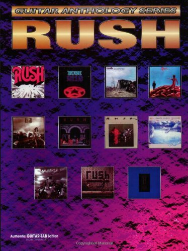 9780897249355: Rush: Guitar Anthology Series (Authentic Guitar-Tab Edition)