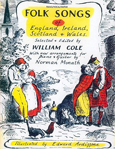 Folk Songs of England, Ireland, Scotland & Wales Format: Book