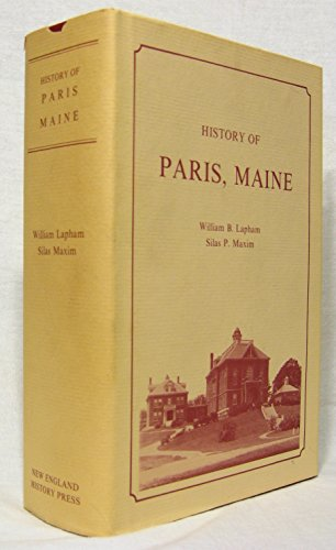 9780897250375: History of Paris, Maine