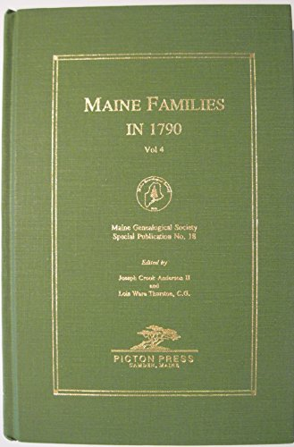 Maine Families in 1790: Joseph C. Anderson