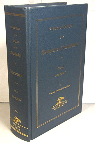 9780897253482: DECLARATION OF INDEPENDENCE, Descendants of the Signers of the, Vol 3: New Jersey