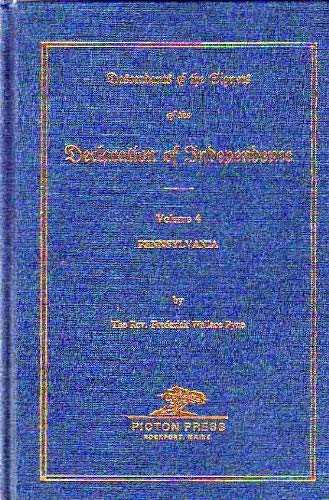 9780897253635: DECLARATION OF INDEPENDENCE, Descendants of the Signers of the, Vol 4: Pennsylvania