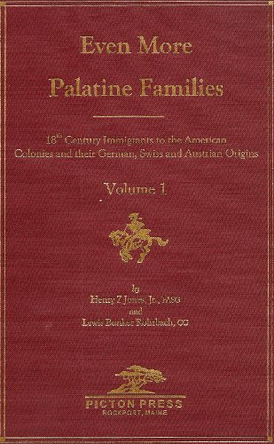 9780897254540: Even More Palatine Families : 18th Century Immigrants to the American Colonies and their German, Swiss, and Austrian Origins (3 volume set)