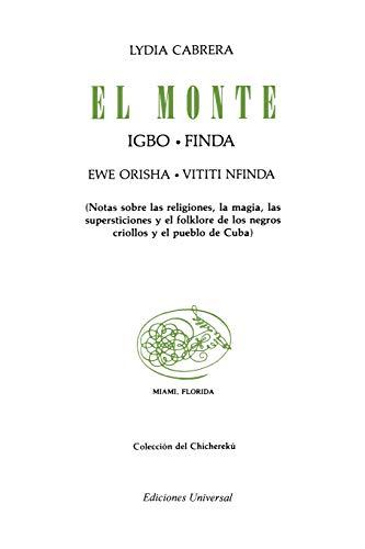 9780897290098: El monte.igbo-finda. ewe orisha. vitti nfinda