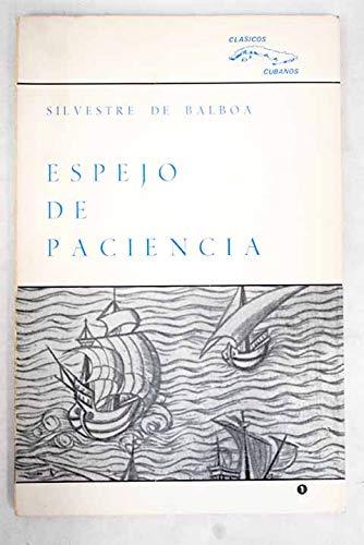 9780897290111: Espejo De Paciencia (Ediciones Universal) (Spanish Edition)