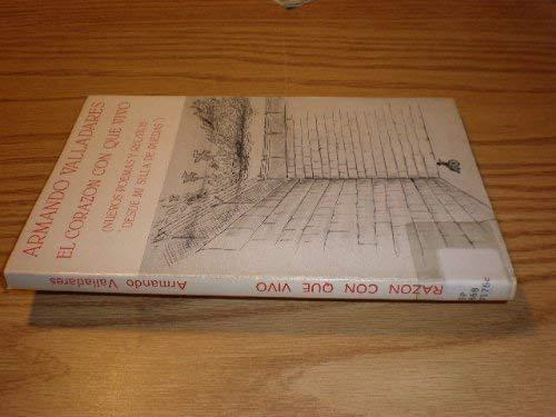 9780897292450: El Corazon Con Que Vivo (Coleccio?n Espejo de paciencia) (Spanish Edition)