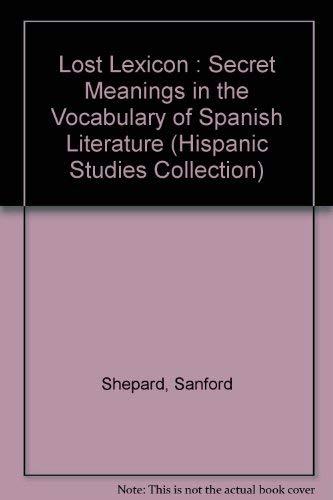 9780897293099: Los t lexiconuniversal (Hispanic Studies Collection)