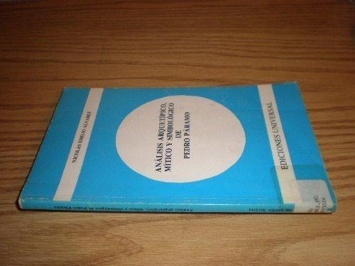 9780897293303: Analisis Arquetipico, Mitico Y Simbologico De Pedro Paramo (Coleccion Polymita)