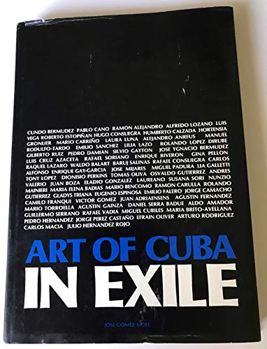 9780897294676: Art of Cuba in Exile