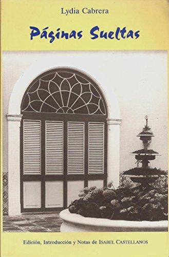 Páginas sueltas (colección del Chichereku en el: Cabrera, Lydia; Castellanos,