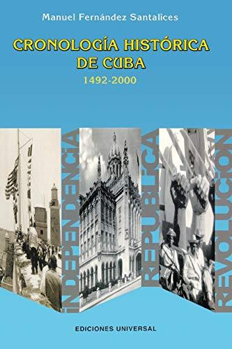 9780897299459: Cronologia historica de Cuba (1492-2000)