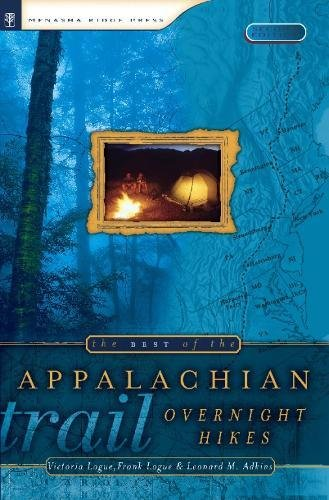 9780897325288: The Best of the Appalachian Trail: Overnight Hikes