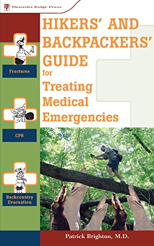 9780897326407: Hikers' and Backpackers' Guide to Treating Medical Emergencies