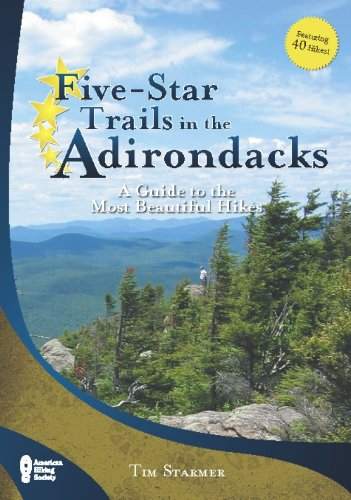 9780897326834: Five-Star Trails in the Adirondacks: A Guide to the Most Beautiful Hikes