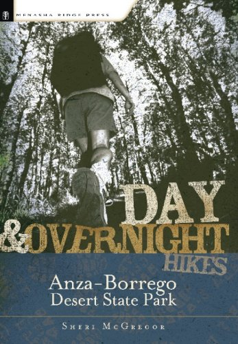 Day and Overnight Hikes: Anza-Borrego Desert State Park: McGregor, Sheri