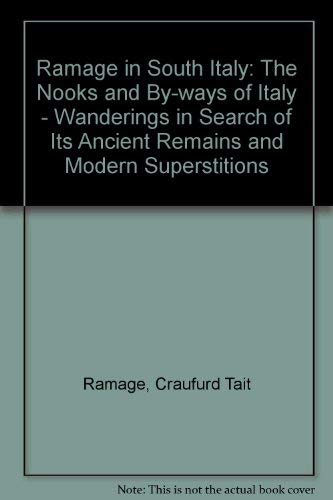 9780897332170: Ramage in South Italy: The Nooks and By-Ways of Italy