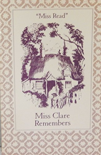 9780897333085: Miss Clare Remembers