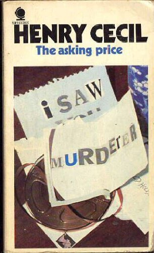 The Asking Price (Academy Mystery): Henry Cecil