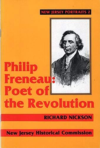 9780897430500: Philip Freneau, poet of the Revolution (New Jersey portraits)