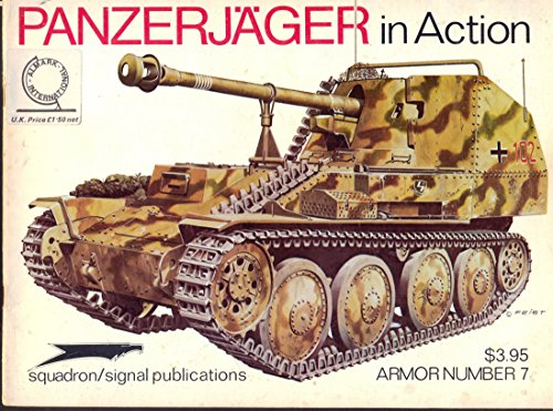 9780897470407: Panzerjager in Action - Armor No. 7