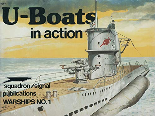 9780897470544: U-Boats in Action - Warships No. 1